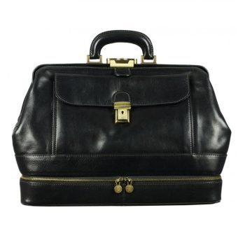 Black Ageless Classic Doctor Bag