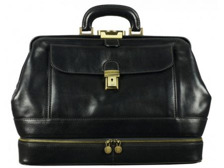 Black Ageless Classic Doctor Bag (6)