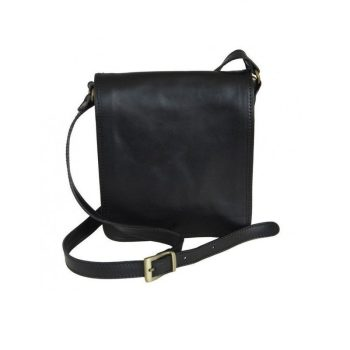 Black Classic Carefree Messenger Bag