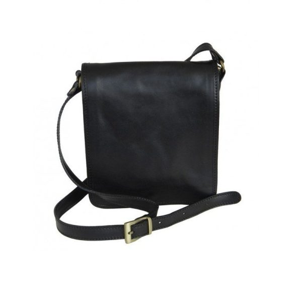 Black Classic Carefree Messenger Bag
