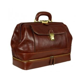 Brown Ageless Classic Doctor Bag