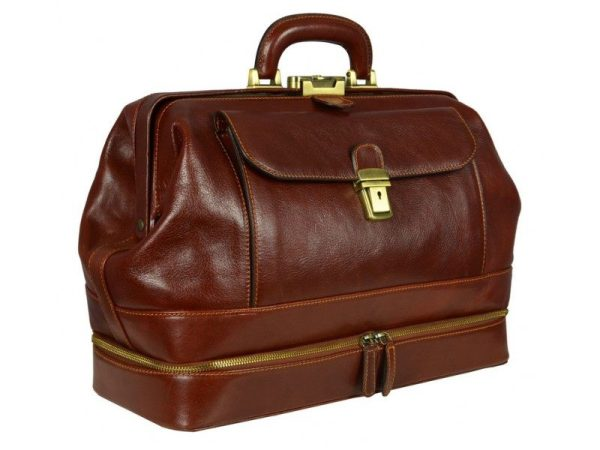 Brown Ageless Classic Doctor Bag (6)