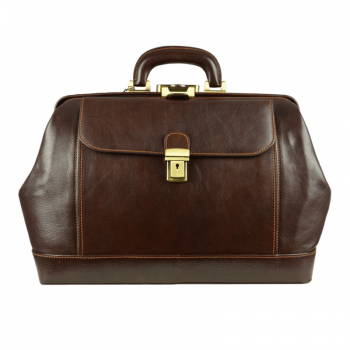 Brown Leather Doctor Bag