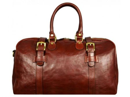 Brown Leather Travel Bag (1)