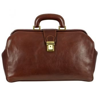 Brown Maximalist Doctor Bag