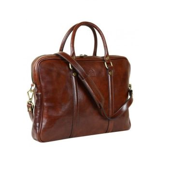 Comfortable Brown Leather Bag