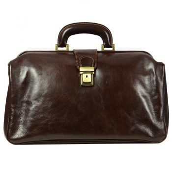 Dark Brown Maximalist Doctor Bag