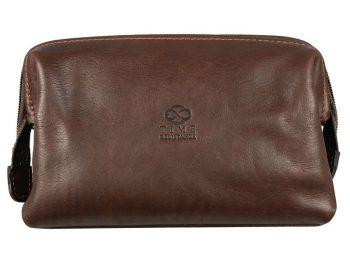 Mens Brown Cosmetic Bag (1)