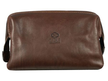 Mens Brown Cosmetic Bag (1)