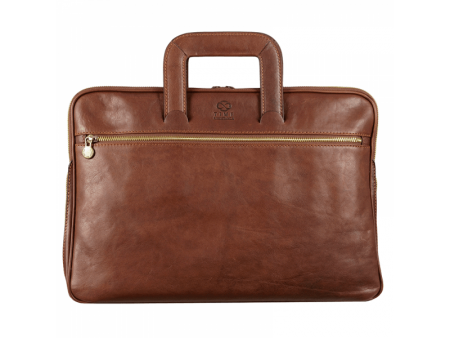 Modern Leather Messenger Briefcase (1)