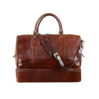 Oldschool Leather Travel Bag