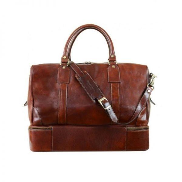 Oldschool Leather Travel Bag