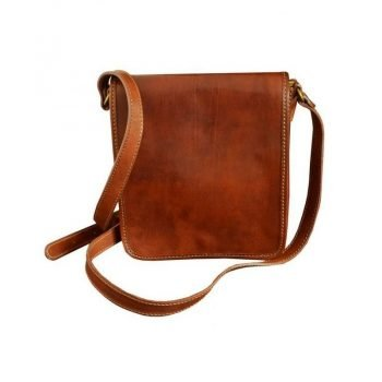 Orange Classic Carefree Messenger Bag