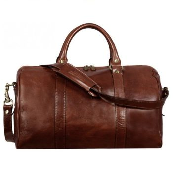 Practical Brown Business Duffle Bag