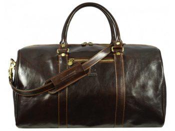Practical Large Dark Brown Business Duffle Bag (1)