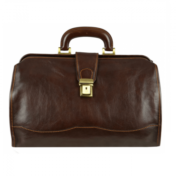 Small Brown Doctor Bag