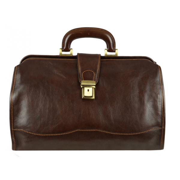 Small Brown Doctor Bag
