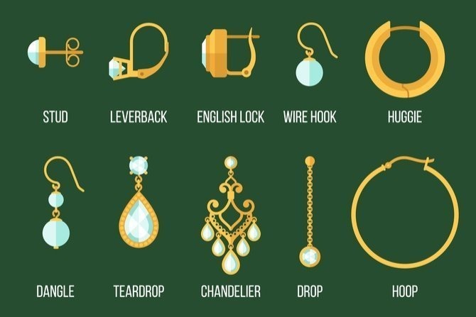 Exploring Different Types Of Earrings Available On The Market