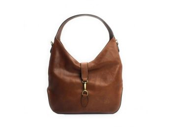 Womens Brown Leather Purse (1)
