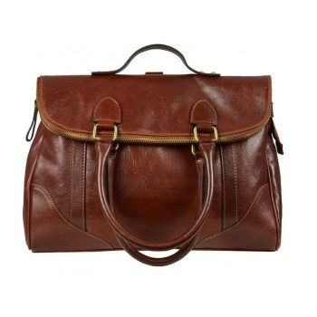 Womens Vintage Leather Tote Bag
