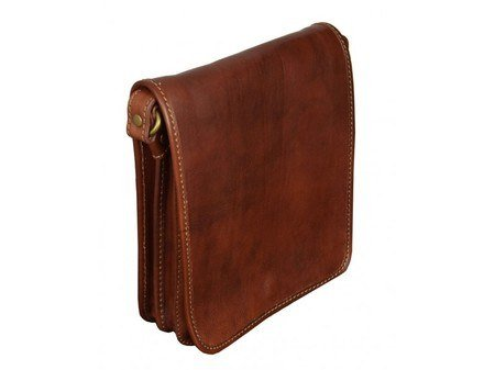 Brown Classic Carefree Messenger Bag (3)