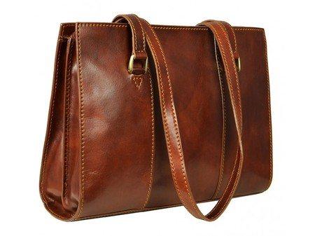 Long Handle Brown Tote Bag For Women (3)