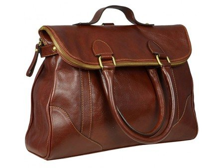 Womens Vintage Leather Tote Bag (5)