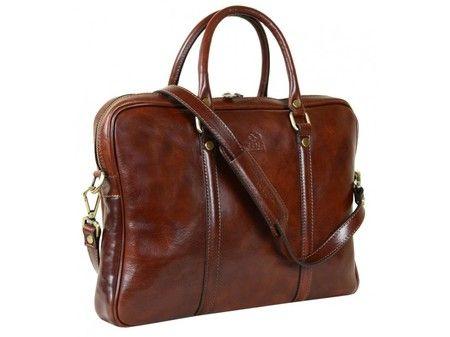 Comfortable Brown Leather Bag