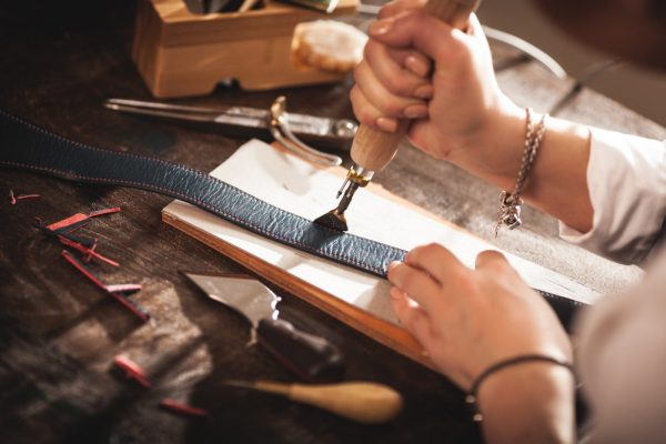 Making leather yourself