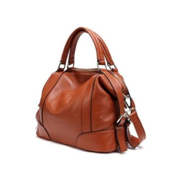 Casual Leather Messenger Handbag - Maisse2