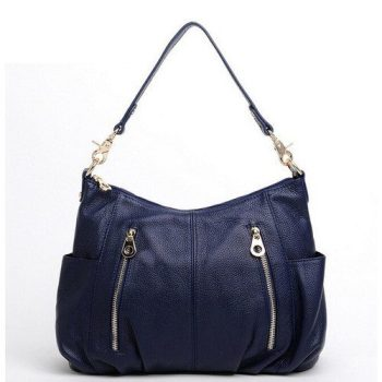 Casual Leather Tote Bag For Women - Privas