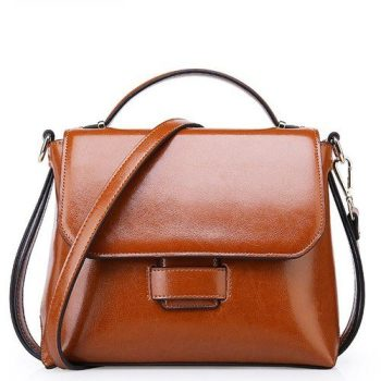 Classic Women leather Shoulder Handbag - Friaize