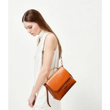 Classic Women leather Shoulder Handbag - Friaize3