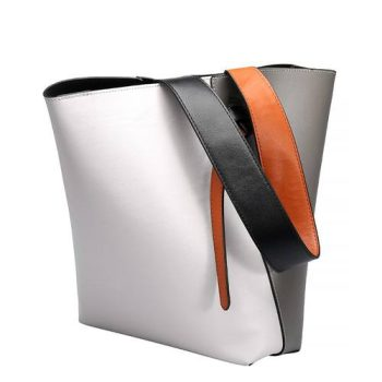 High Capacity Leather Tote Bag - Reims1