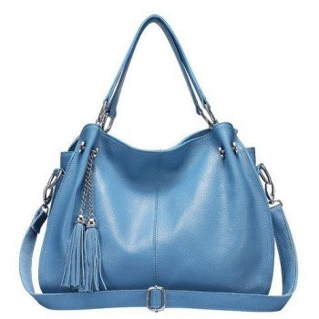 Luxury Crossbody Leather Shoulder Bag - Agen