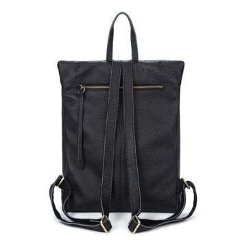 Modern Leather Tote Backpack - Aubenas