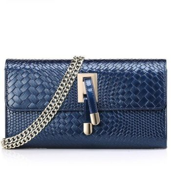 Stylish Genuine Leather Clutch Bag - Cezy
