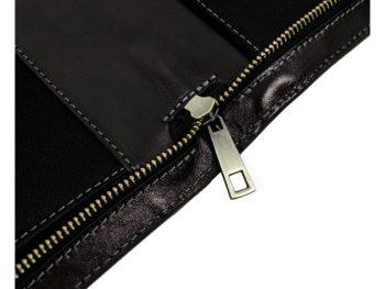 Black Classic Leather Document Folder - Candide8