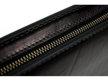 Black Classic Leather Document Folder - Candide9