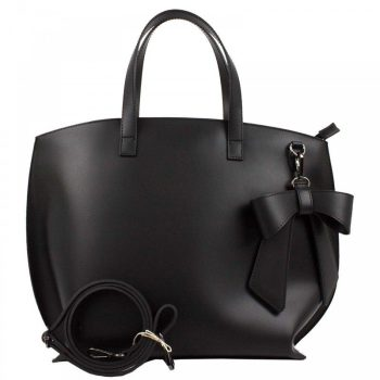 Black Elegant Leather Purse - Miriam