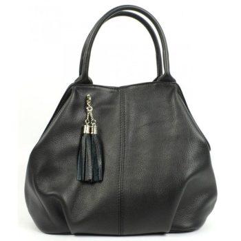 Black Genuine Leather Purse For Women - Imelda