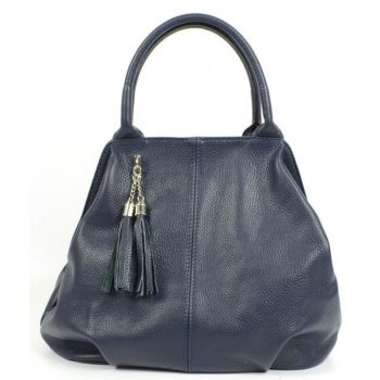 Blue Genuine Leather Purse For Women - Imelda