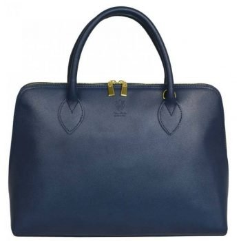 Blue Modern And Stylish Leather Women's Purse - Savina