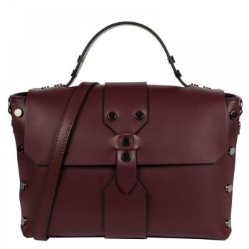 Bordeaux Mini Leather Purse - Aurora