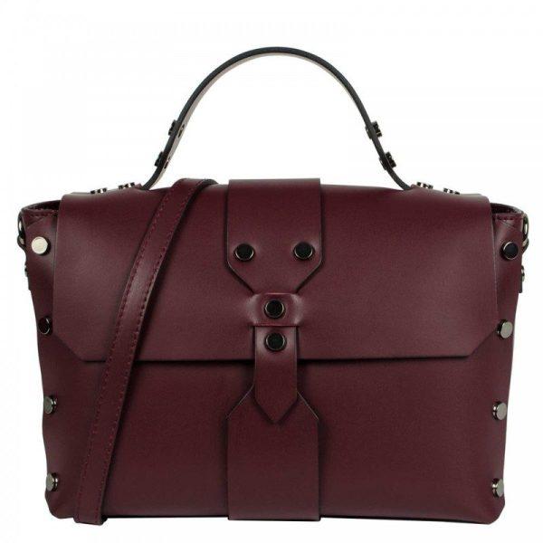Bordeaux Mini Leather Purse - Aurora