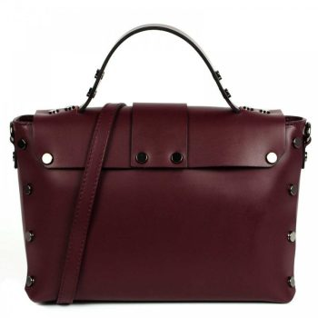 Bordeaux Mini Leather Purse - Aurora2