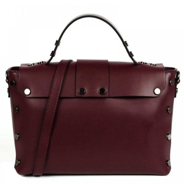 Bordeaux Mini Leather Purse - Aurora2