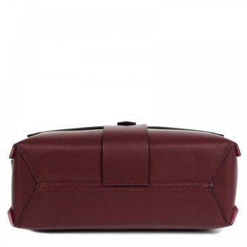 Bordeaux Mini Leather Purse - Aurora3
