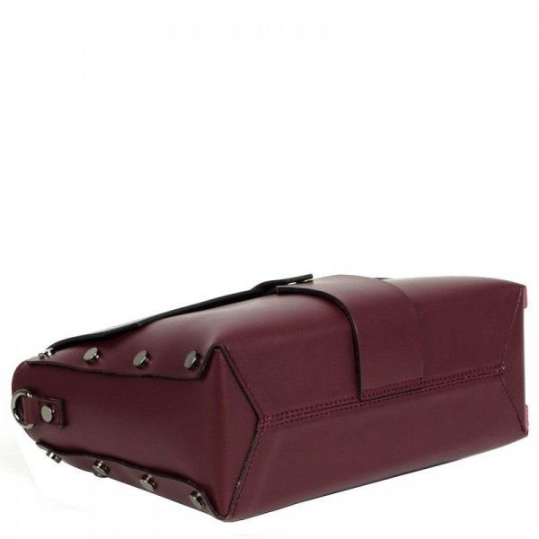 Bordeaux Mini Leather Purse - Aurora4