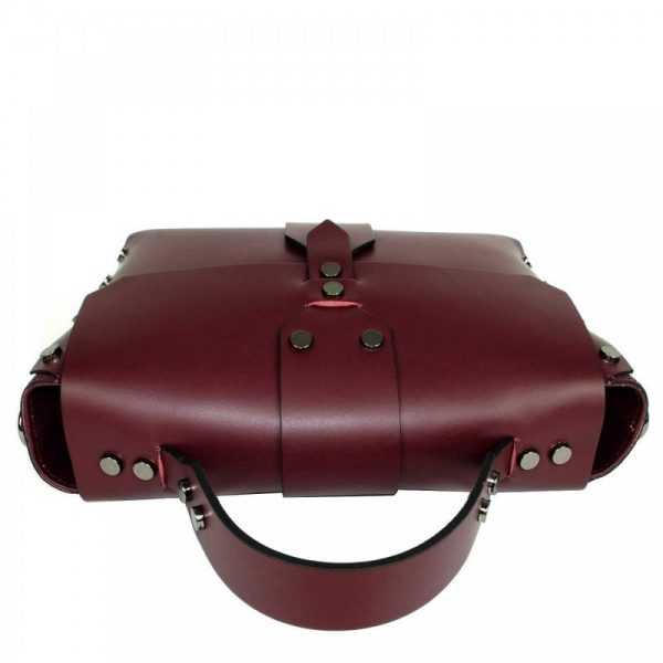 Bordeaux Mini Leather Purse - Aurora5